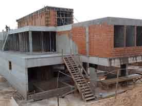 calculo estrutural em bady bassitt construção de sobrado em alvenaria
