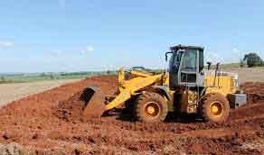 terraplanagem para construção de galpão